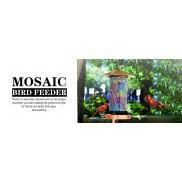 mosic bird feeder